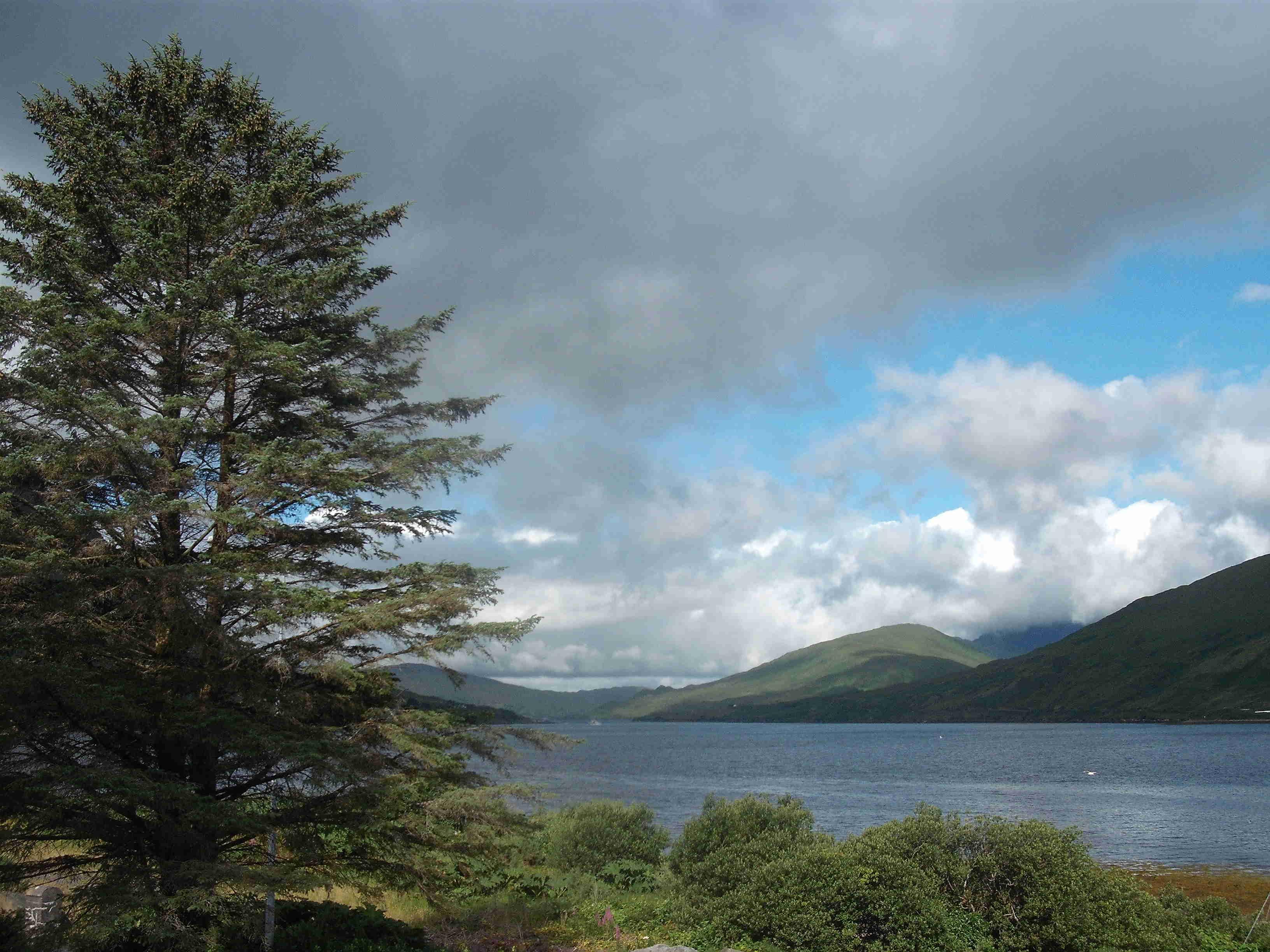 Killary Harbor, een fjord bij Leenane