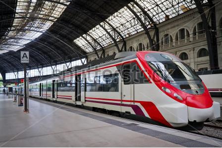 Het treinstation in Luik