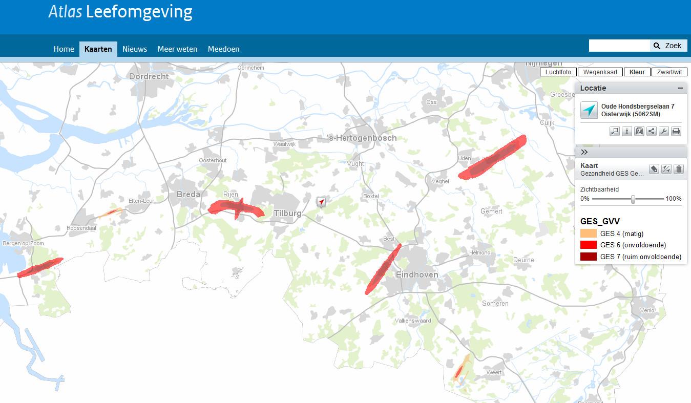 Geluidszones rond Brabantse vliegvelden