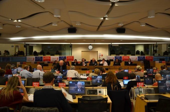 Het ETUC in vergadering op 9 juni 2016