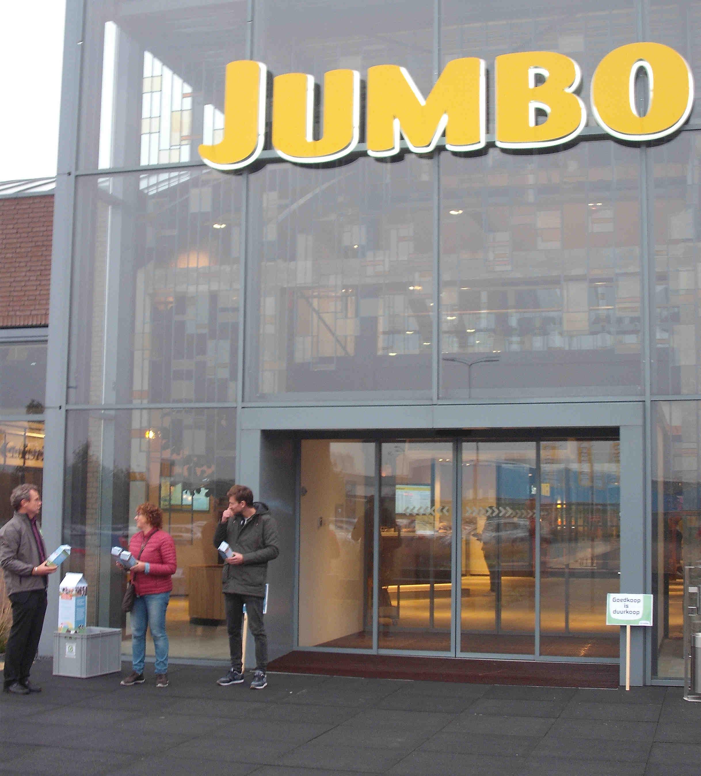 Met Milieudefensie op bezoek bij de Jumbo