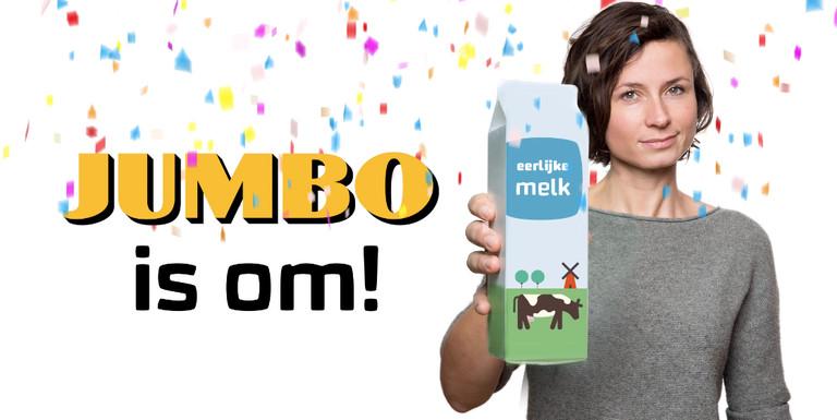 Jumbo zet grote stap vooruit bij duurzame melk
