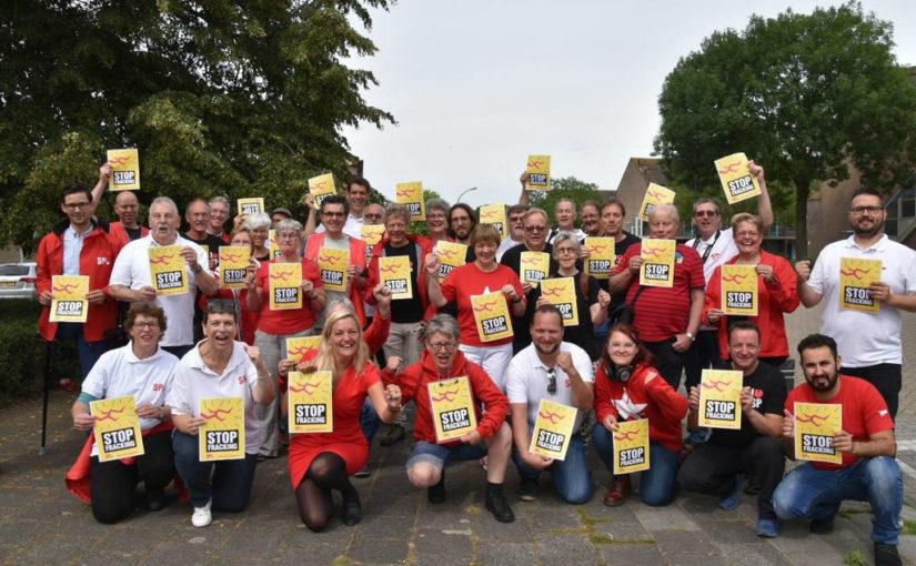 SP haalt 303 zienswijzen tegen uitbreiding gaswinning in Waalwijk op