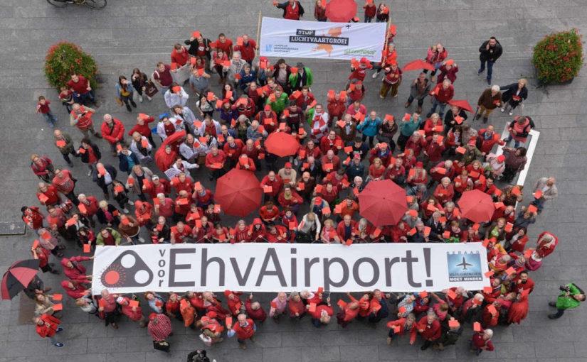 Een rood sein voor Eindhoven Airport