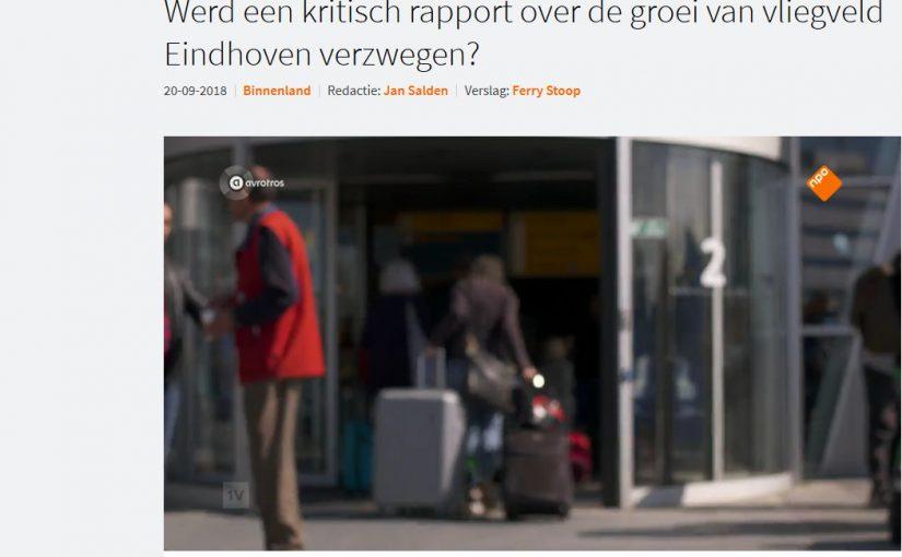 EenVandaag over het stikstofrapport rond Eindhoven Airport