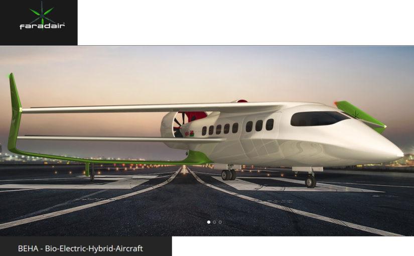 Faradair wil hybride-elektrische 18-zitter uitbrengen