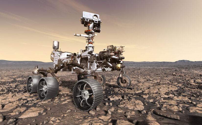 Perseverance op Mars